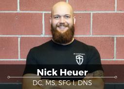 Nick Heuer - Strength Training Coach