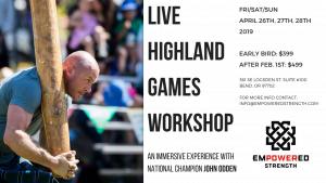 Highland Games Workshop
