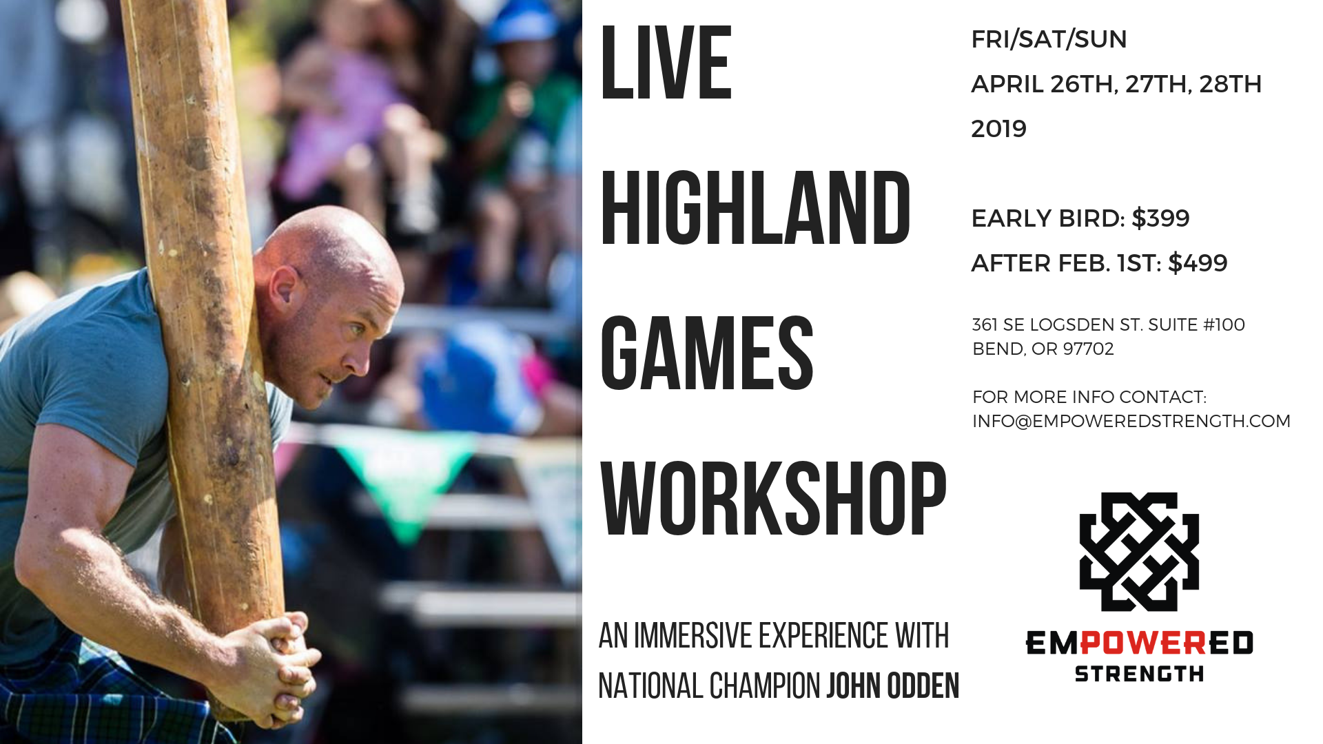 Highland Games Workshop